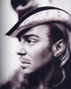 John Galliano photographed by Paolo Roversi