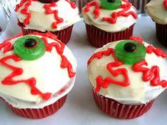 easy halloween cupcake decorating ideas