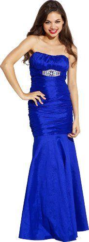 Taffeta Mermaid Prom Dress Formal Gown