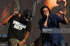 Nas and Damian 'Jr Gong' Marley perform during the 2011 Austin City Limits Music Festival at Zilker Park on September 16, 2011 in Austin, Texas.