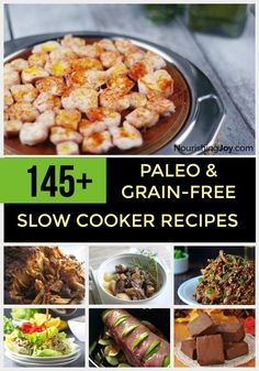Want a whole catalogue of delicious meals at your fingertips? This massive Paleo & grain-free slow cooker recipe collection is for you!