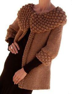With pattern Knit 1 LA