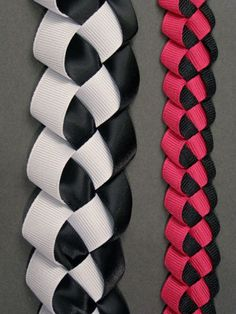 This stunning ribbon braid is easy to create, and can add a touch of embellishment to any project!