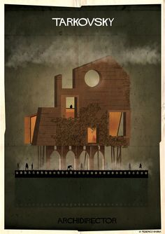 Gallery of ARCHIDIRECTOR: A Fantastical City Inspired by Famous Directors by Federico Babina - 9