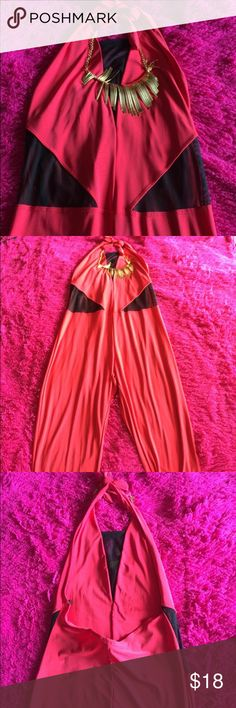 Jumpsuit for ❤️San Valentine❤️ special price Long and beautiful red jumpsuit for night ❤️❤️❤️😍 Dresses
