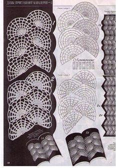 Kettenmuster häkeln - crochet pattern
