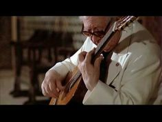 One of the masters of Spanish guitar music: Andrés Segovia, Asturias