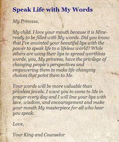 His princess ...