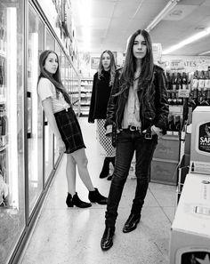 the fucking rad girls of Haim