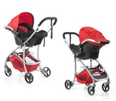 BabyHome - New Egg0 car seat, attached to the Emotion stroller