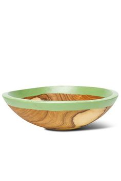 Kuni Bowl by Badala. Handcrafted in Kenya from locally sourced olive wood.