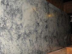 Love this concrete counter top - looks like granite.