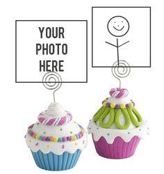 cupcake party ideas: cupcake favor