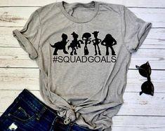 Toy Story Unisex Shirt | Adult Disneyland Shirt | Adult Toy Story Shirt | Toy Story Squad Goals | Unisex Disney Shirt