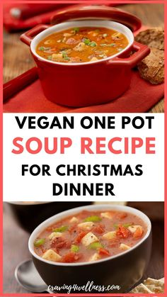Make amazing vegan one pot soup at home. This soup recipe is perfect for a cozy Christmas night, made with healthy vegetables & tastes super delicious#souprecipe#vegansouprecipe#christmasdinnerideas Vegetable Soup Healthy, Vegetable Soup Recipes, Easy Soup Recipes, Healthy Vegetables, Great Recipes, Christmas Night, Pressure Cooker Recipes, Cooking Tips, Good Food