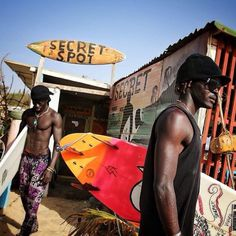 sandylamu:  Surfing Senegal, Photo Jimmy Chin