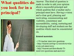 Related materials: 170 teacher interview questions. Ebook ...