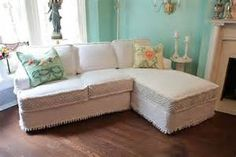 shabby chic slipcovers for sectionals