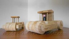 Free construction toy plans print ready PDF download. Easy to build toy steam roller using basic tools and scrap timber.