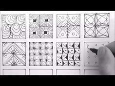 Patterns For Doodling | 24 Doodle Patterns, Zentangle Patterns, Mandala Patterns - YouTube