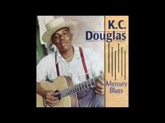 K.C. Douglas - Mercury Blues (1952). Crazy bout a '49 Mercury Ford.  #CarSongFriday