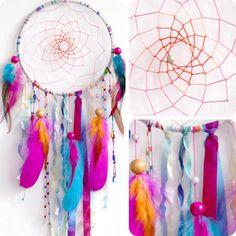 Sherbert Fairy Native Woven Dream Catcher. $59.00, via Etsy.
