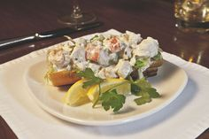 Hungry? Come enjoy the Lobster Roll from the Bar Bites menu at N9NE Steakhouse inside Palms Casino Resort!