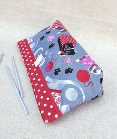 CAT NEEDLE CASE Knitting Crochet Needle by KnittingBagAndCase