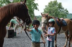 Grier Summer is an overnight and day camp for girls ages 7 to located in the Allegheny Mountains of beautiful Central Pennsylvania. Day Camp, Girls Camp, Horseback Riding, Camping, Summer, Campsite, Outdoor Camping, Campers, Horse Riding