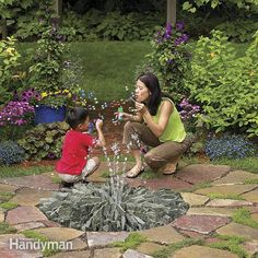 How to Cast Concrete Fountains | Family Handyman