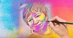 Jak wygląda Twój portret wykonany pastelami?