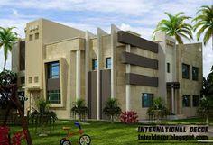International villa designs ideas, modern villas designs