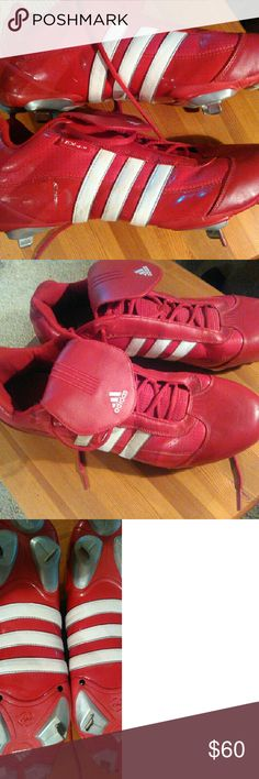 Adidas Baseball Cleats men's size 16 Size 16 Mens Adidas Baseball Cleats.  Great condition.  Hard size to find. Adidas  Shoes Athletic Shoes