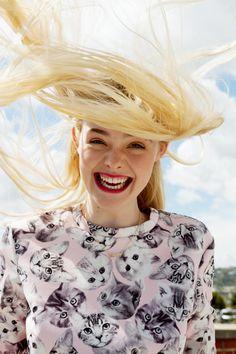 Elle Fanning en ASOS Magazine julio 2014