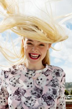 elle fanning asos magazine photos1 Elle Fanning Stars in ASOS Magazine, Talks Knowing Karl Lagerfeld