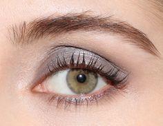 A deep medium silver/grey Mineral Eyeshadow, Organic Makeup, Silver Surfer, Natural Make Up, All About Eyes, Beautiful Eyes, Eye Color, Green Eyes