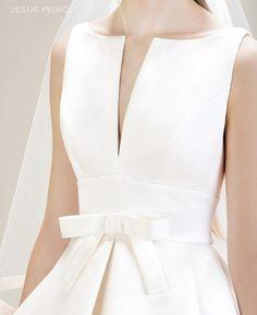 JESUS PEIRO Vestido novia 7014 Colección Mirtilli JESUS PEIRO Wedding Dress Mirtilli Collection 2017