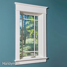 Don't let the elegant look fool you. This trim is actually easier than the standard 'picture frame' trim used in most homes since the 1950s. There are no fu