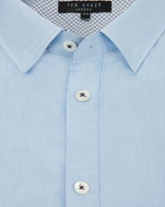 Classic formal shirt - Light Blue | Shirts | Ted Baker