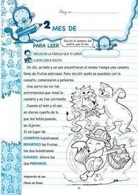 actividades de lectoescritura para primer grado en imprenta mayuscula - Buscar con Google