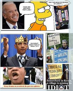Obama Comic 1 by The Marc Chamot Report, via Flickr