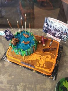 Duck Dynasty theme birthday party!
