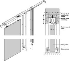 Section In Elevator Shafts Dwgautocad Drawing Stuff To