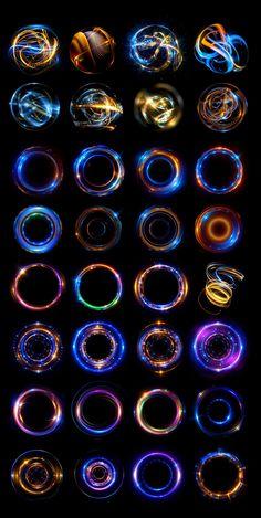 Experiments with optical flares on Behance Optical Flares, Magic Symbols, Weapon Concept Art, Magic Circle, Digital Art Tutorial, Magic Art, Grafik Design, Art Tips, Game Design