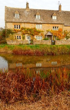 Lower Slaughter, Gloucestershire, Cotswolds, England, UK