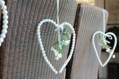 Hearts made of 'pearls' * Aviale.nl