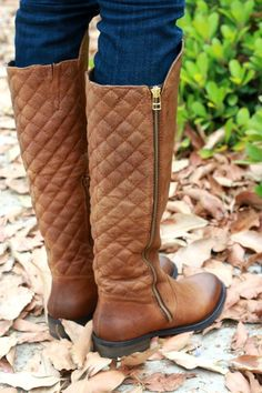 Steve Madden quilted boots ~ $140