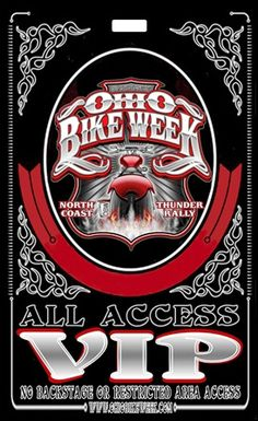 $50 Off VIP Tickets for the 2015 Ohio Bike Week --- (May 29 to June 7, 2015) ---  Get them now, there are a limited number that will sold at this price  -------------------- **Discount Ohio Bike Week Tickets ohiobikeweek.com/event-tickets.php **PICTURES at blog.lightningcustoms.com/oh-bike-week/  ----------------  #ohiobikeweek #ohiobikeweekdiscount #ohbikeweek #bikeweekohio #ohiobikeweekdiscount #ohiobikeweekdiscounttickets