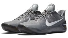 save off 97b98 f3996 Nike Kobe AD Grey White   Sole Collector Fashion Mode, Nike Shoes Outlet,  Volleyball