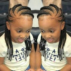 Braids for Kids, 50 Splendid Braid Styles for Girls, The Right Hair styles you can count on. Little Girl Braids, Black Girl Braids, Braids For Kids, Girls Braids, Children Braids, Kid Braids, Children Hair, Black Girl Braided Hairstyles, Baby Girl Hairstyles